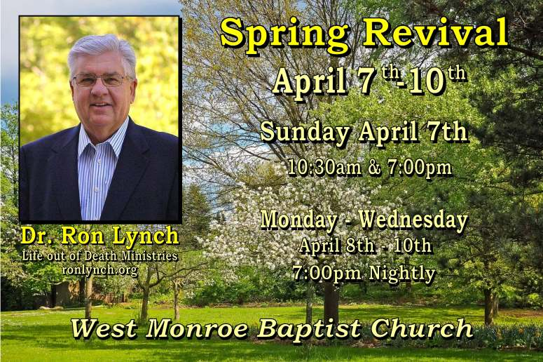 Spring Revival 2019 Ron Lynch post card Pic