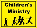 Childrens Ministry sign